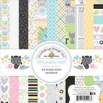 Kitten Smitten  6 x 6 Paper Pad - Doodlebug