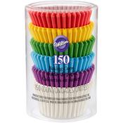 Rainbow 150/Pkg - Mini Baking Cups