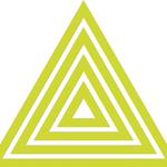 "Triangle .75""X1"" To 4""X4.75"" - Kaisercraft Dies"