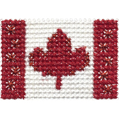 Canada - Stitch-A-Pen Flags
