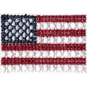 USA - Stitch-A-Pen Flags