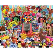 """Candy For All Seasons - Jigsaw Puzzle 1000 Pieces 24""""X30"""""""