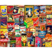 "Vintage Tins - Jigsaw Puzzle 1000 Pieces 24""X30"""