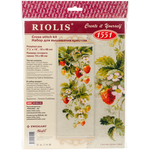 "7.5""X19"" 14 Count - Strawberry Counted Cross Stitch Kit"