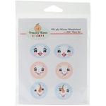 Winter Wonderland - Peachy Keen Stamps Clear Face Assortment 6/Pkg