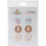 Snowmany - Peachy Keen Stamps Clear Face Assortment 6/Pkg