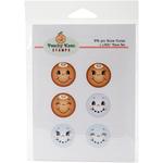Snow Cuties - Peachy Keen Stamps Clear Face Assortment 6/Pkg