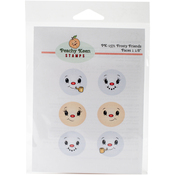 Frosty Friends - Peachy Keen Stamps Clear Face Assortment 6/Pkg