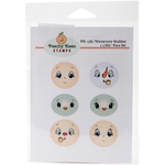Wintertime Buddies - Peachy Keen Stamps Clear Face Assortment 6/Pkg