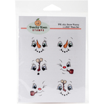 Snow Funny - Peachy Keen Stamps Clear Face Assortment 6/Pkg