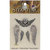 Wings & Cherubs - Steampunk Metal Accents 5/Pkg