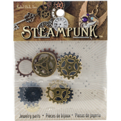 Small Gears - Steampunk Metal Accents 11/Pkg