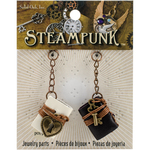 Books - Steampunk Leather Accents 2/Pkg