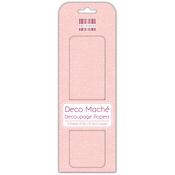 "Peach Polka - Deco Mache Paper 10.25""X14.75"" 3/Pkg"