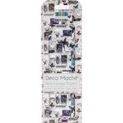 "Insect Stamps - Deco Mache Paper 10.25""X14.75"" 3/Pkg"