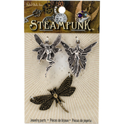 Fairies - Steampunk Metal Accents 3/Pkg