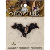 Bat - Steampunk Metal Pendant 1/Pkg