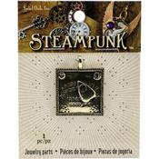 Ouija Board - Steampunk Metal Pendant 1/Pkg