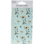Wildflowers - Simply Creative Decoupage Paper 18.8cm X 35cm 4/Pkg