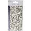 Black Letters - Simply Creative Decoupage Paper 18.8cm X 35cm 4/Pkg