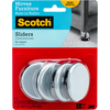 4/Pkg - Scotch Reusable Sliders 2.375  Scotch-Reusable Sliders. These sliders make it easy to move furniture on carpet! Ideal for furniture with casters. This package contains four 1/2x2-1/4x2-1/4 inch sliders. Imported.