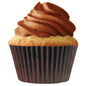 Brown 24/Pkg - Jumbo Baking Cups