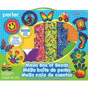 Tie Dye - Perler Mega Fused Bead Kit