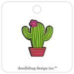 Desert Bloom Enamel Pin - Doodlebug