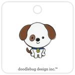Puppy Enamel Pin - Doodlebug