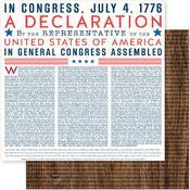 Declaration Paper - American The Beautiful - Pebbles