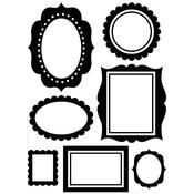 "Wall Frames - Embossing Folder 4.25""X5.75"""