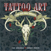 Tattoo Art Coloring Book - Lark Books