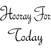 """Hooray For You - Gourmet Rubber Stamps Cling Stamps 2.75""""X4.75"""""""