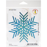 "Snowflake Delight 2, 4""X4"" - Cheery Lynn Designs Die"