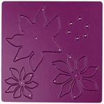 """Poinsettia #2, 2.5""""X2.25"""" - Cheery Lynn Designs Die"""