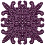 "Snowflake 3, 2""X2"" - Cheery Lynn Designs Doily Die"