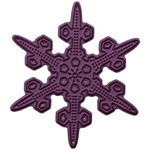 "Snowflake 7, 2.5""X2.5"" - Cheery Lynn Designs Doily Die"