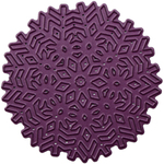 "Geometric Snowflake, 3""X3"" - Cheery Lynn Designs Doily Die"
