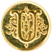 Letter U - Personal Initial Seal