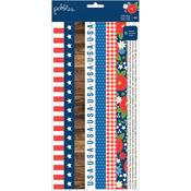 America The Beautiful Washi Tape Strips - Pebbles
