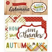 Frames & Tags Ephemera - Fall Is In The Air - Echo Park