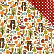 Fall Friends Paper - Fall Is In The Air - Echo Park