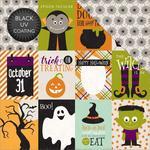 3 x 4 Journaling Card Paper - Halloween - Echo Park