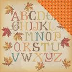 Fall Stitching Paper - Autumn - Carta Bella