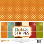 Autumn Gold Collection Kit - Dots & Stripes Foiled - Echo Park