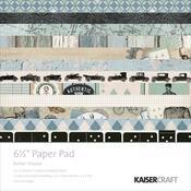 Barber Shoppe 6.5 x 6.5 Paper Pad - KaiserCraft