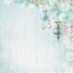 Bauble Garland Paper - Christmas Wishes - KaiserCraft