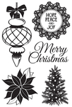 Christmas Wishes Clear Stamps - KaiserCraft