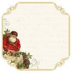 Santas List Foiled Paper - Silent Night - KaiserCraft