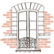 Window Die-Cut Paper - Ooh La La - KaiserCraft